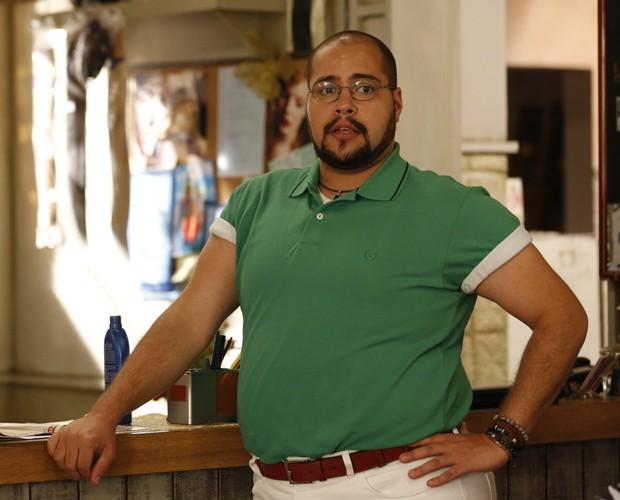 Tiago Abravanel fala sobre inspiração de seu personagem (Foto: Ellen Soares / Gshow)