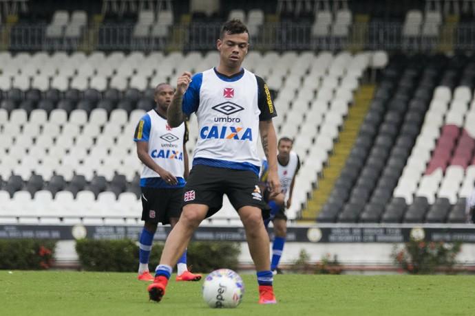Bernardo, treino Vasco, São Januário (Foto: Paulo Fernandes / vasco.com.br)