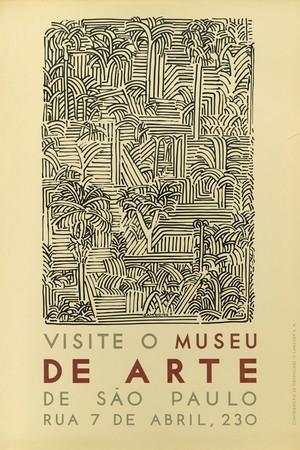 Primeiro Cartaz no MASP (Foto: Divulgação)