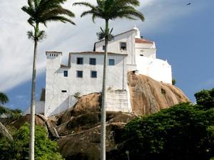 Convento da Penha entra em circuito de visitação de prefeitura, no ES (Foto: Divulgação/ PMVV)