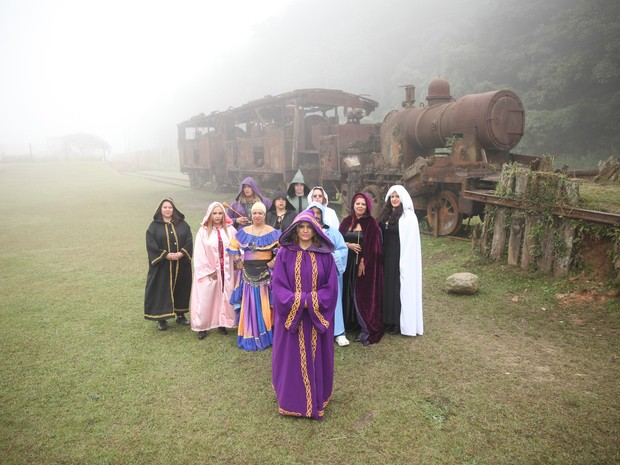 No domingo, o evento terá um ritual de paz, dos dragões e das fadas (Foto: Glauco Araújo/G1)