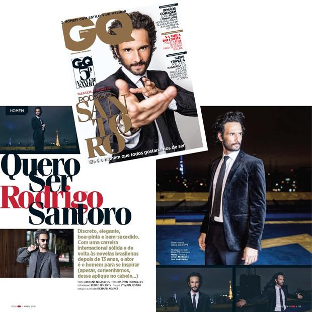Confidencial Rodrigo Santoro  (Foto: Reprodução)