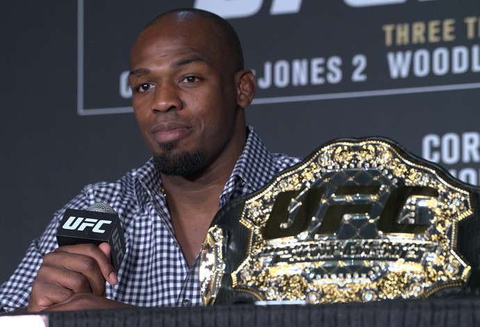 Jon Jones; UFC 214 (Foto: Evelyn Rodrigues)
