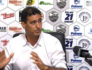 Paulo Cezar Catanoce, técnico do Comercial (Foto: Reprodução EPTV)