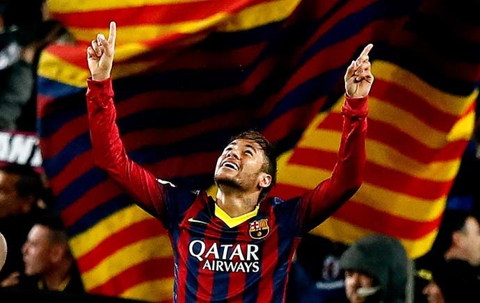 neymar barcelona gol Celta de vigo (Foto: Agência Getty Images)