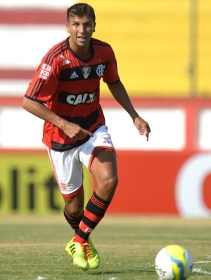 Lucas Mugni Flamengo x Boavista (Foto: Alexandre Vidal / Flaimagem)