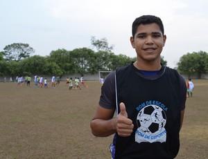 Eduardo Biscola, de 17 anos (Foto: Franciele do Vale)
