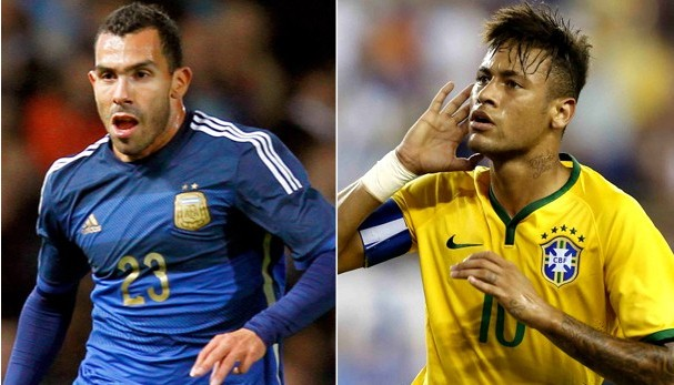 Argentina e Brasil duelam pelas Eiminatórias da Copa do Mundo de 2018 (Foto: Divulgação)