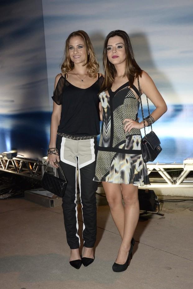 Luiza Valdetaro e Giovanna Lancelotti (Foto: Roberto Teixeira/EGO)
