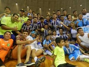 Jogadores do Paysandu comemoram a conquista (Foto  Ronaldo Santos Ascom  Paysandu) 7475f21aaf61d