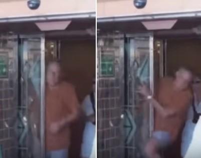 James Hausman é atingido por porta automática ao se dirigir para piscina de transatlântico