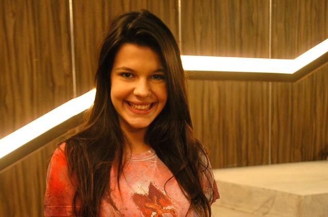 Giovana Echeverria em 'Malhação', em 2010 (Foto: Blenda Gomes/ TV Globo)