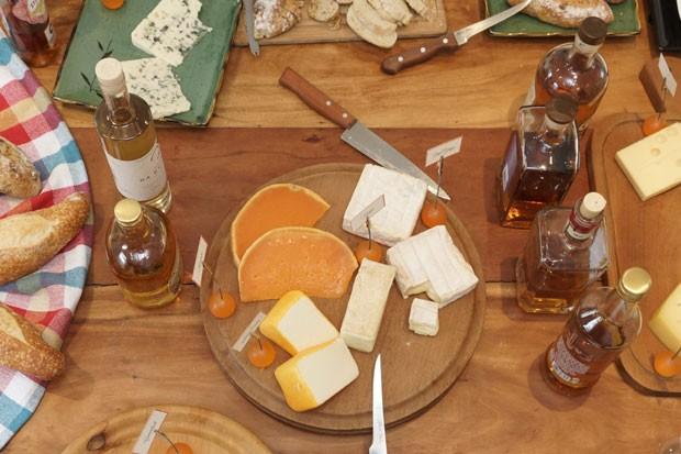 Harmonização de queijos e cachaças (Foto: Divulgação)