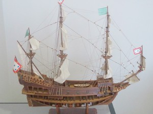 Exposição vai contar com réplicas de Modelismo Naval (Foto: Divulgação)