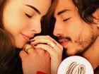 Rayanne Morais paga quase R$ 60 mil em suas alianças de noivado