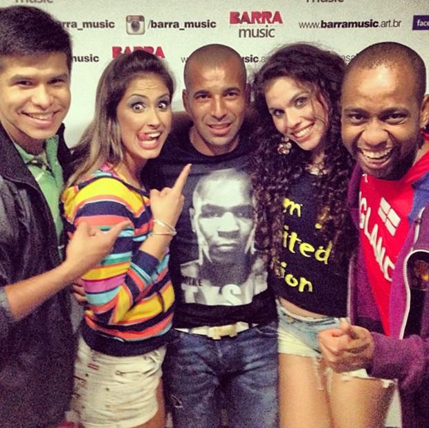 Emerson vai a show no Barra Music (Foto: Instagram)