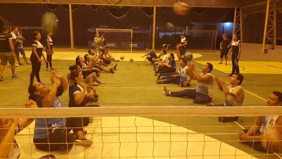Seleção Santarena de Volei Sentado vai participar do evento (Foto: Arquivo/Ulbra)