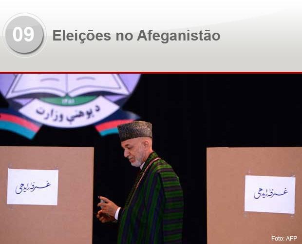 eleições afeganistão