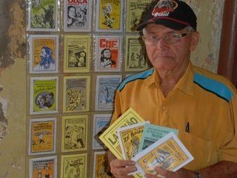 Firmino Cabral era cordelista há mais de 50 anos (Foto: Setur / Divulgação)