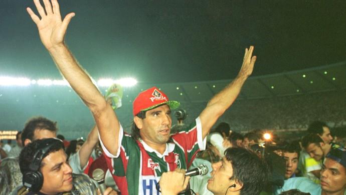 Renato Gaucho Fluminense 1995 (Foto: Luiz Morier / Ag. Estado)