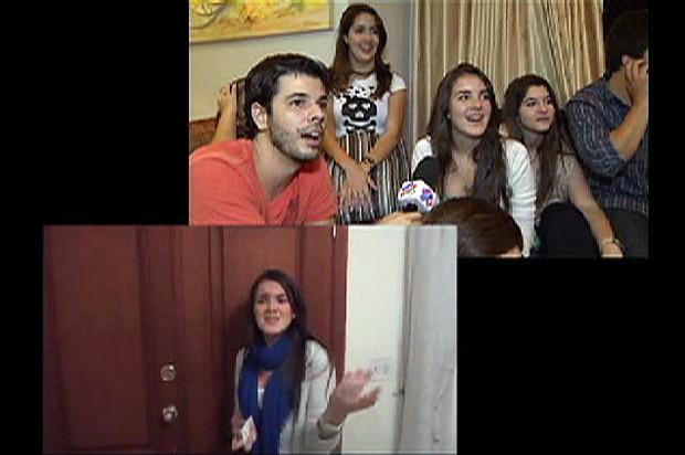 """Jonas Almeida conhece responsáveis pela Webserie """"As Joseenses"""", inspirada em """"As Brasileiras"""" (Foto: Reprodução/TV Vanguarda)"""