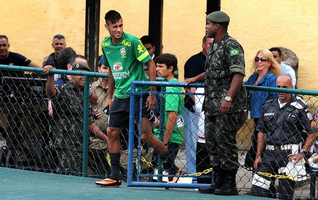 Neymar treino seleção brasileira (Foto: André Durão / Globoesporte.com)