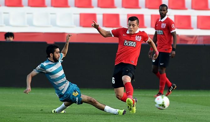 Carlos Munõz pelo Al-Ahli  (Foto: Al-Ahli / DVG)
