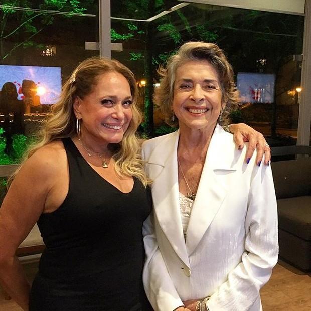 Susana Vieira e Betty Faria em festa no Rio (Foto: Instagram/ Reprodução)
