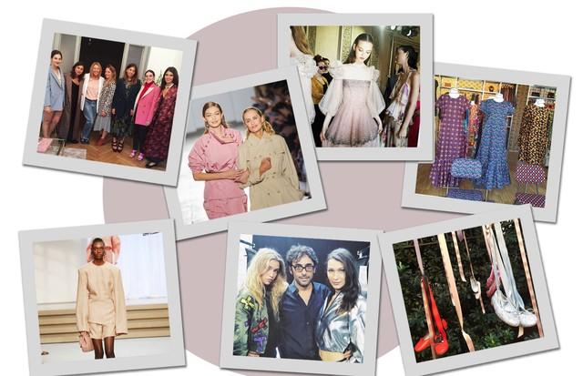 Sábado de muito agito na MFW! (Foto: Arte Vogue Online)