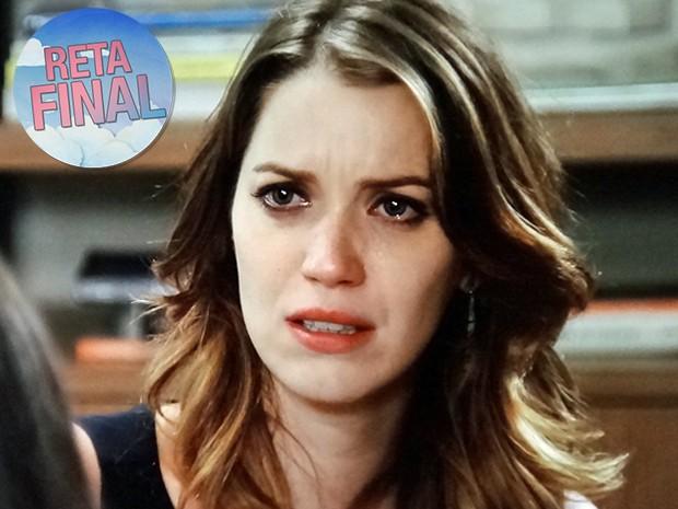 Laura ficará inconformada com revelação de Úrsula (Foto: TV Globo)