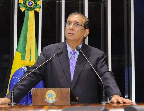 O senador Jader Barbalho (Foto: Waldemir Barreto/Agência Senado)