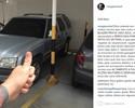 Após recusar teste do bafômetro, Rony Jason posta foto de carro na garagem