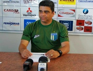 Marcelo Cabo, técnico do Nacional-MG (Foto: Fair Play Assessoria)