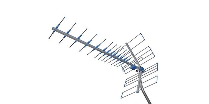Antena externa Yagi UHF Proeletronic PROHD-1100 (Foto: Divulgação/Proeletronic)