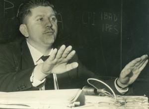 Rubens Paiva à época da CPI do IBAD, 1963  (Foto: Fundo Última Hora – Arquivo Público do Estado de S. Paulo)