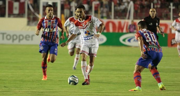 Sergipe, Bahia, Copa do Nordeste (Foto: Osmar Rios / GloboEsporte.com)