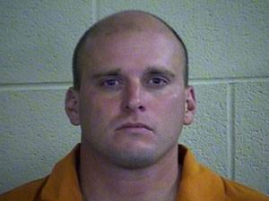 Suspeito Brad Davis, em foto divulgada pelo escritório do xerife do condado de Pottawatomie (Foto: Reprodução/Facebook/Pottawatomie County Sheriff's Office)