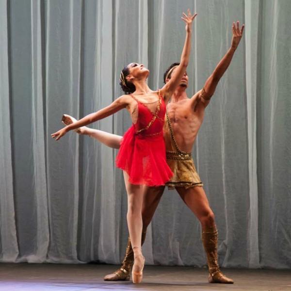 Este mês, bailarinos do Bolshoi ficaram em primeiro lugar na YAGP (Foto: Anderson Santiago/Divulgação)