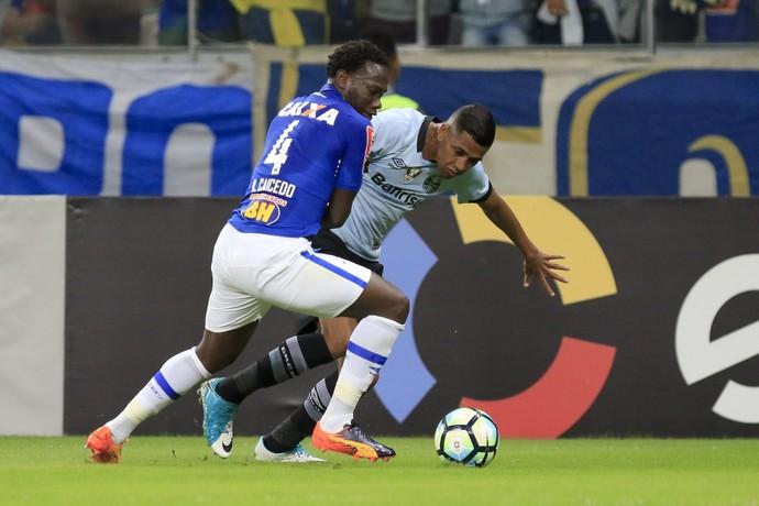 Cruzeiro x Grêmio Mineirão Brasileirão Pedro Rocha Caicedo (Foto: Daniel Coelho/Agência PressDigital)