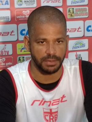 Júlio Cesar, goleiro do CRB (Foto: Denison Roma / GloboEsporte.com)