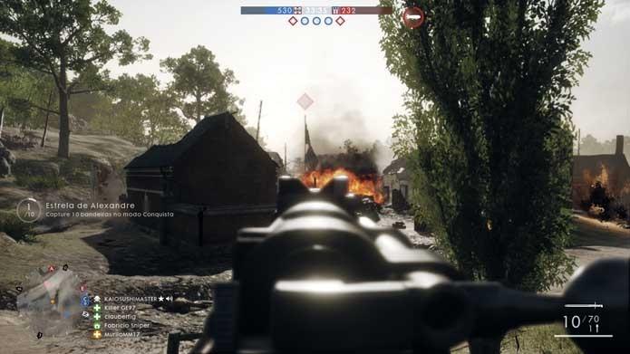 Foque nos objetivos de Battlefield 1 (Foto: Reprodução/Murilo Molina)