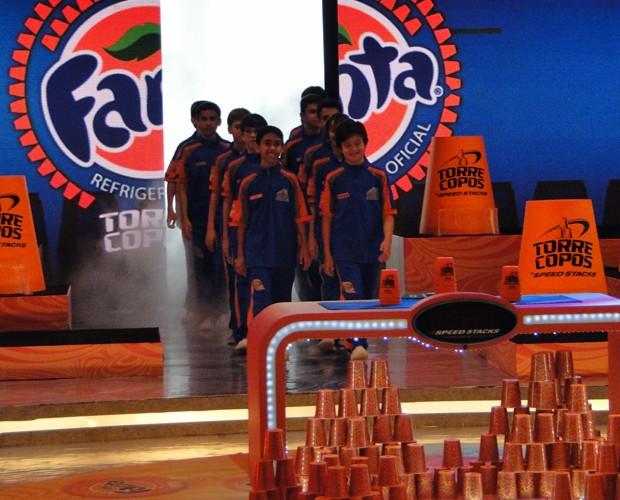 Participantes do Desafio Torrecopos 2012 (Foto: Caldeirão do Huck/TV Globo)