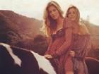 Gisele Bündchen parabeniza irmã gêmea por aniversário