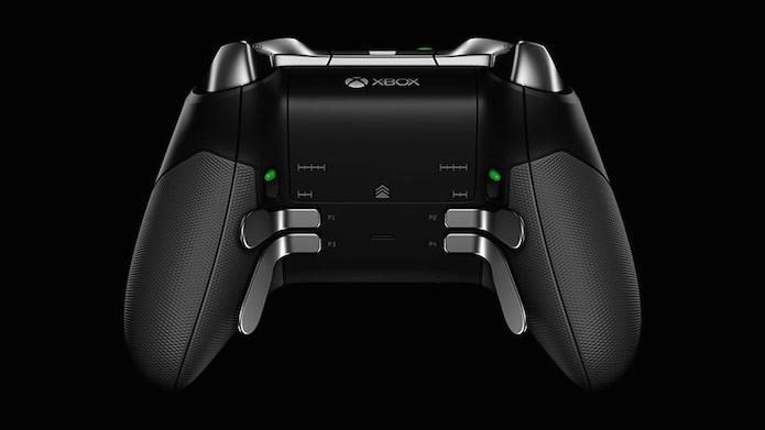 Xbox Elite: controle profissional traz botões na parte de traseira que não existem no joystick padrão (Foto: Divulgação/Microsoft)