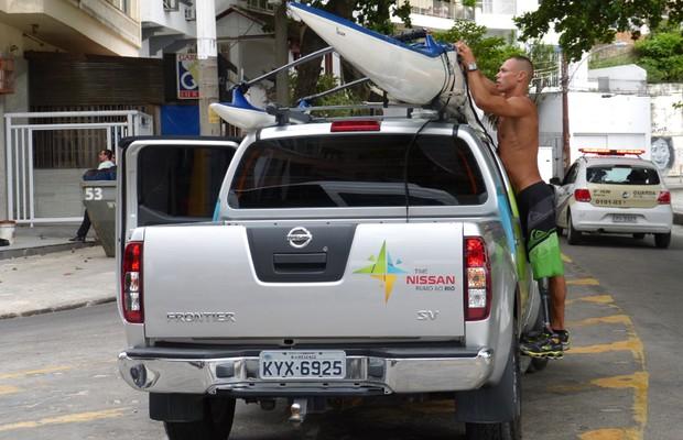 Caio Ribeiro vai participar das Paralimpíadas na canoagem de velocidade (Foto: Divulgação)