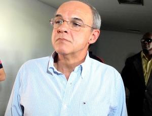 Eduardo Bandeira de Mello coletiva Flamengo