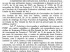 União oficializa prorrogação da atuação da Força Nacional no RS