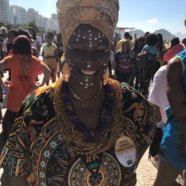 Marcha das Mulheres Negras no Rio de Janeiro (Foto: Julia Pitaluga)