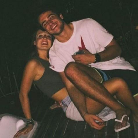 Bruna Griphao com o namorado, Paulo Magalhães (Foto: Reprodução)