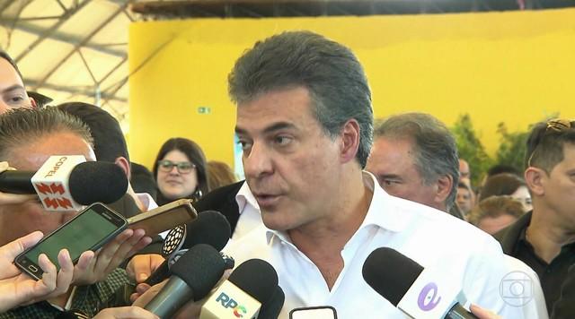 Desembargador tira inquérito de Beto Richa (PSDB) das mãos de Moro